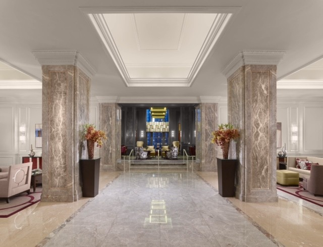 club lounge lobby, Chef Rotondo, Neo-Classical landmark, Parallel 37, Ritz Carlton, Ritz Carlton shop, San Francisco, SpaDeVie, Ritz carlton San francisco