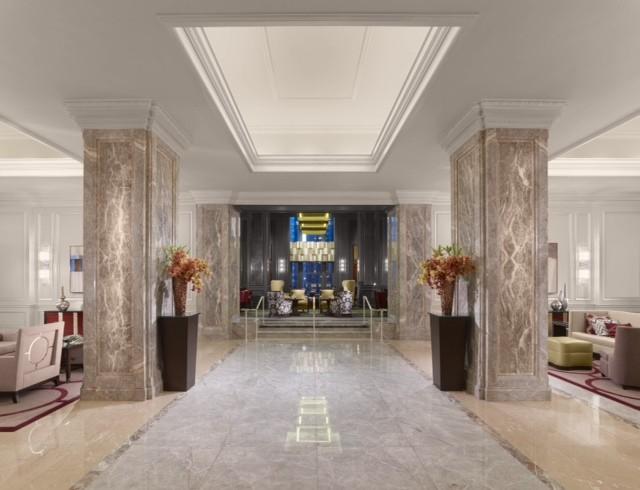 club lounge lobby