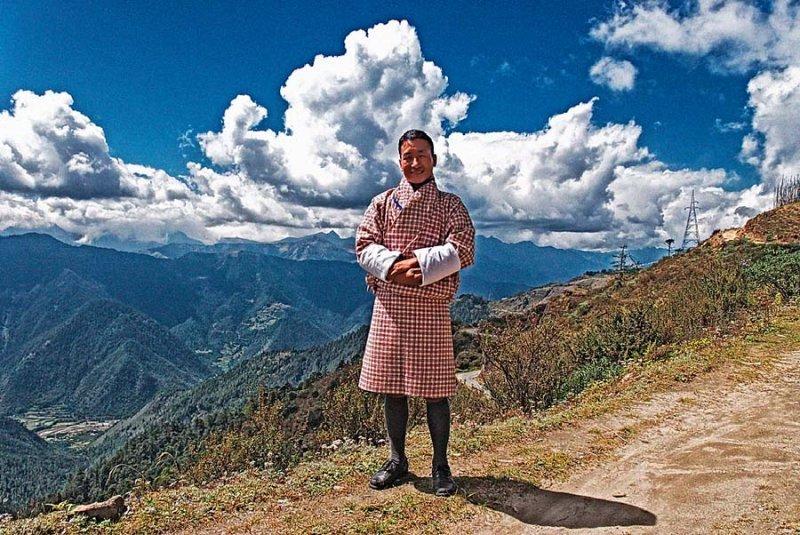 bhutan Gho dress, Bhutan, Druk Air, gho, Himalayan Kingdom, Kingdom of Bhutan, kira, Last Shangri-la, Taj Tashi, takin