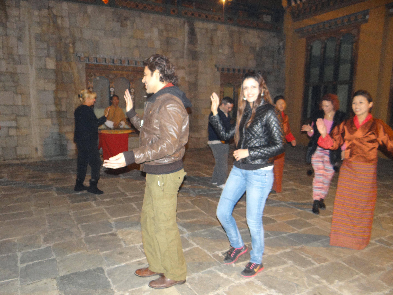 rametse ngacham bhutan, taj tashi bhutan trip, Bhutan, Druk Air, gho, Himalayan Kingdom, Kingdom of Bhutan, kira, Last Shangri-la, Taj Tashi, takin