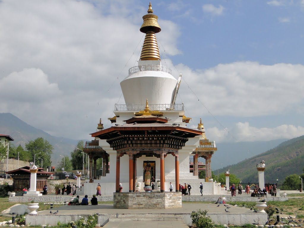 memorial chorten bhutan
