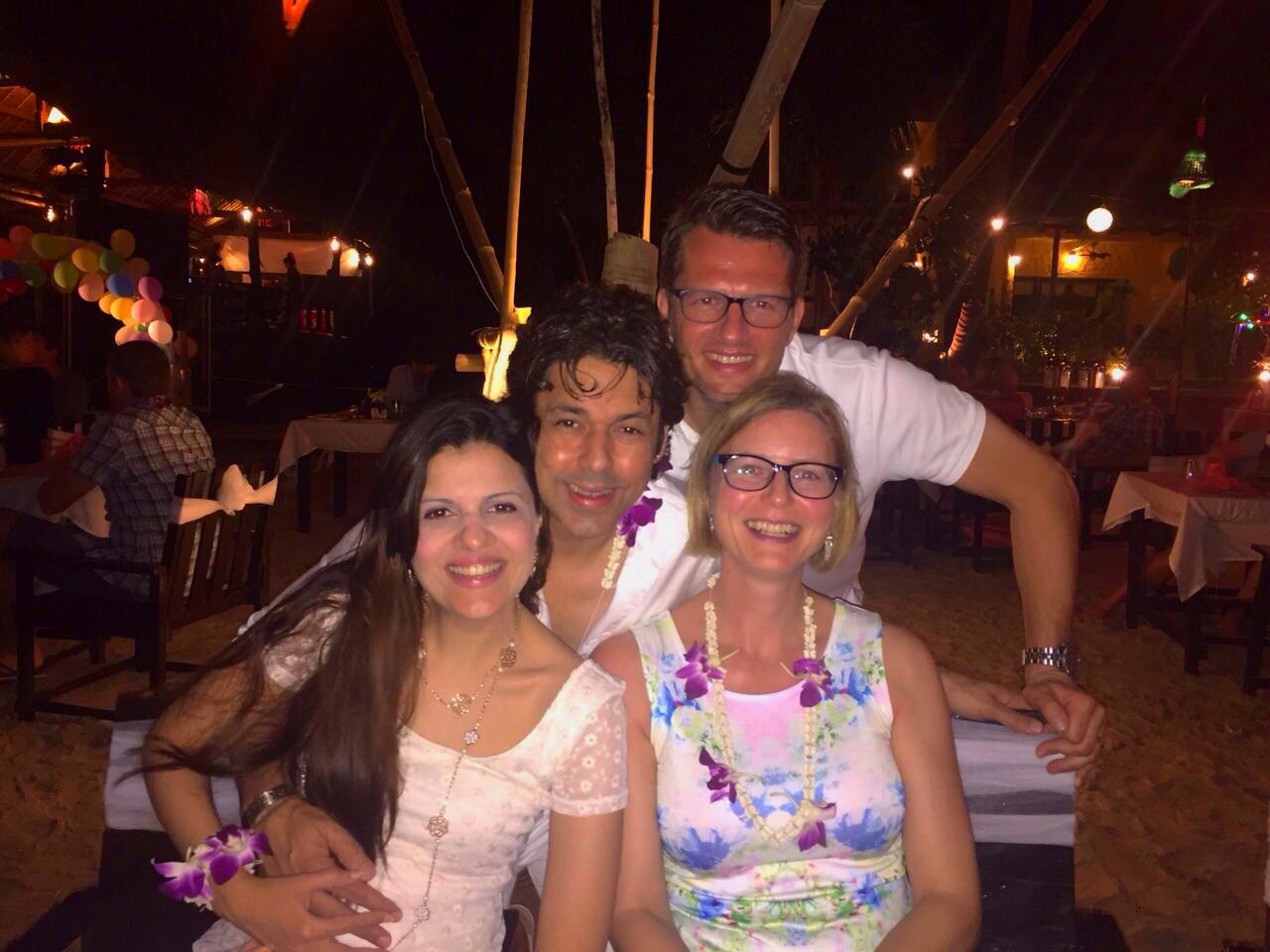 kantiang bay new year, bangkok, houben, koh lanta, Krabi, five-star luxury Pimalai Resort