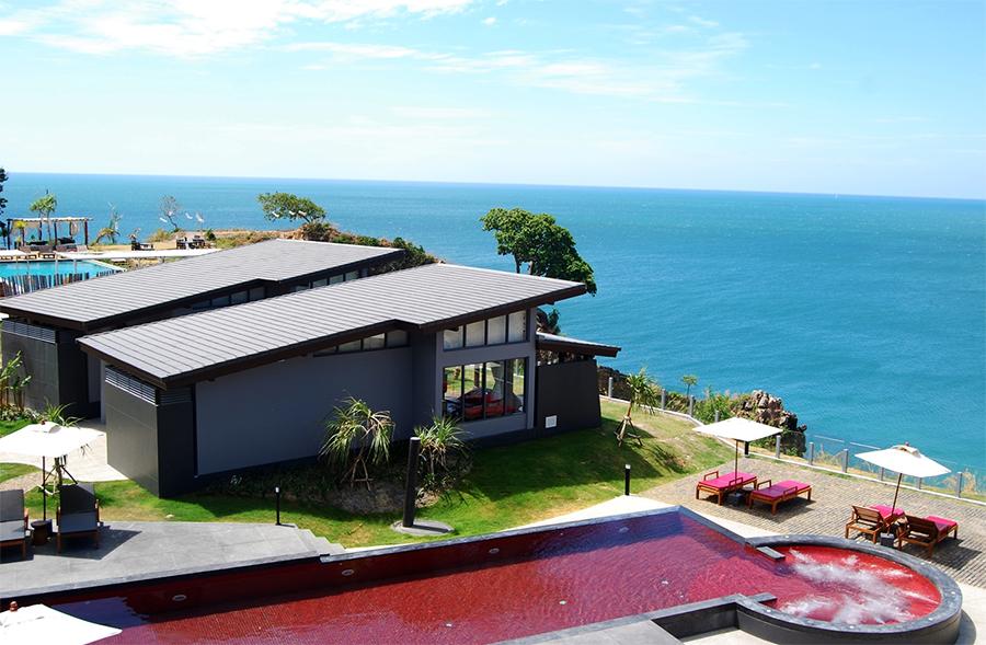 the red pool thailand, bangkok, houben, koh lanta, Krabi, five-star luxury Pimalai Resort