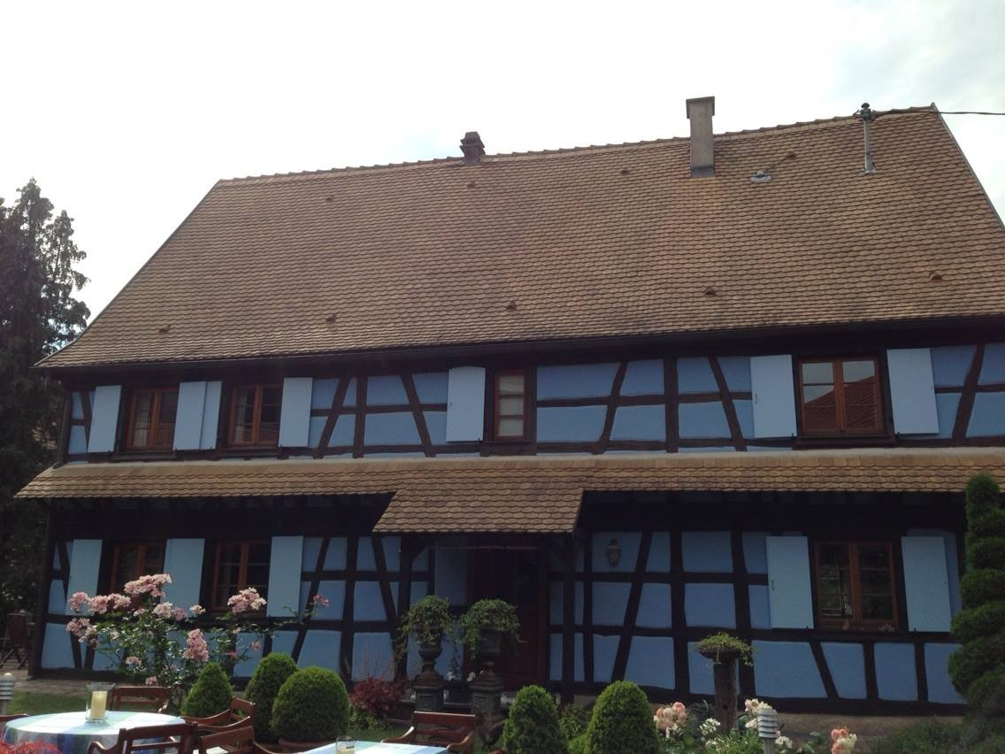 Hotel A' La Ferme gais, Angel kissing spring, cherries, Strawberries, Gais Switzerland