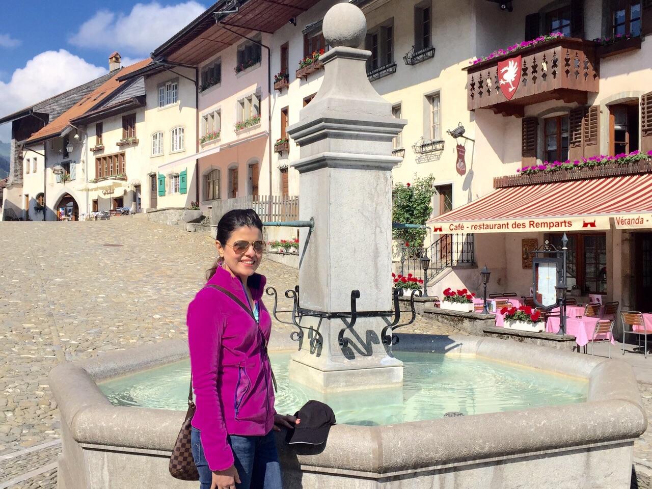 gruyere travel, gruyere, Saane river, Switzerland