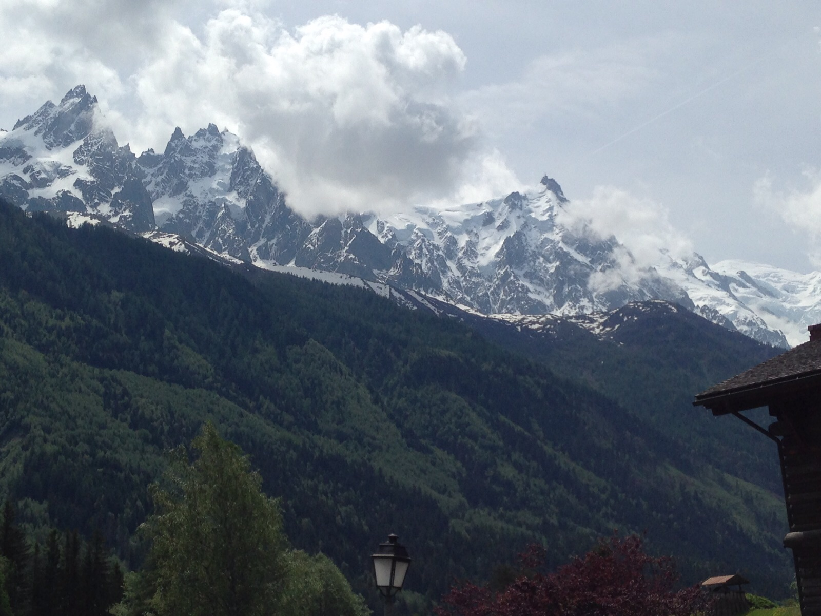 mountain view chamonix