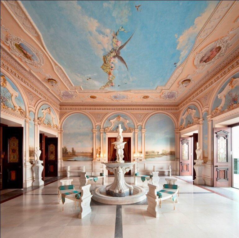 fountain vestibule - taj falaknuma, luxury hotel Hyderabad, luxury palace hyderabad, Taj Falaknuma Palace Hyderabad, taj hotel hyderabad,