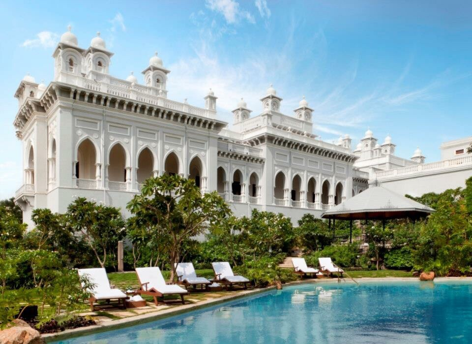 swimming pool taj hyderabad