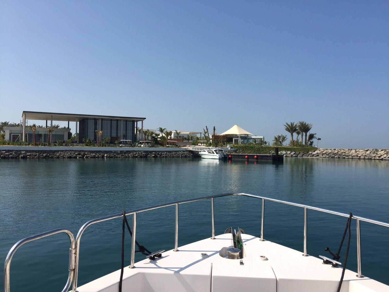 zaya nurai speed boat, Dubai, Middle East, Pierchic, zaya nurai, zaya nurai resort
