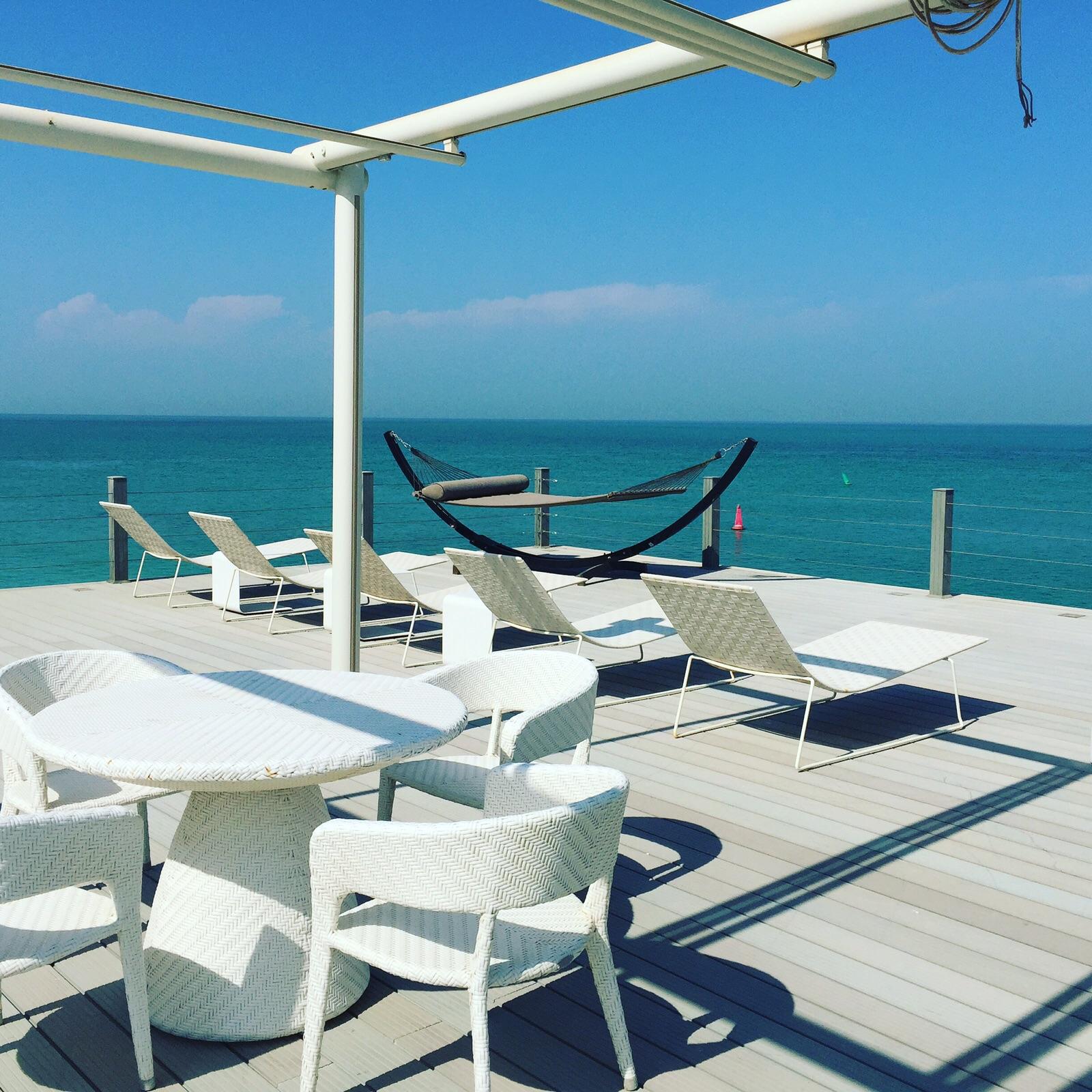 zaya nurai wooden deck, Dubai, Middle East, Pierchic, zaya nurai, zaya nurai resort
