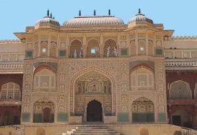 Diwan-e-Khas, jaipur, naila fort, Oberoi RajVilas, puppets, rajasthani