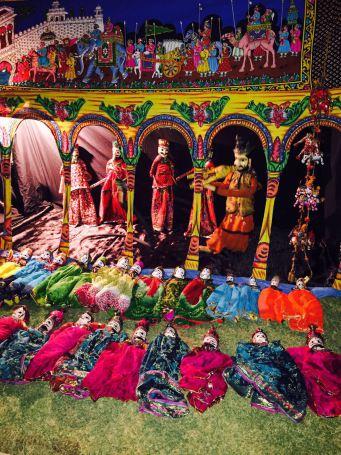 puppet stage, jaipur, naila fort, Oberoi RajVilas, puppets, rajasthani