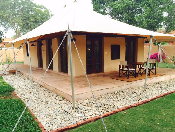 oberoi rajvilas luxury tents