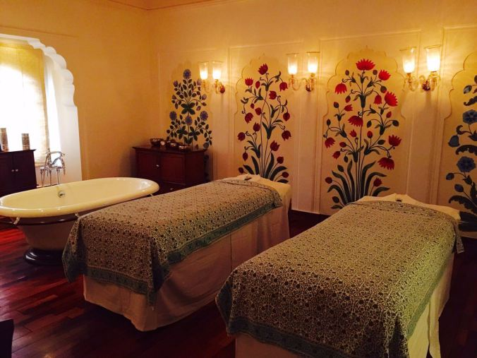 oberoi rajvilas massage spa