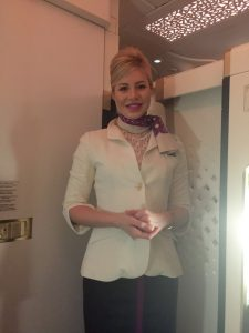 Irina Adam, abu dhabi, etihad airways, UAE, united arab emirates