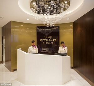 etihad business class lounge, abu dhabi, etihad airways, UAE, united arab emirates