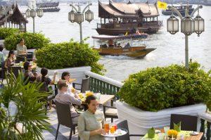 restaurant verandah breakfast bangkok