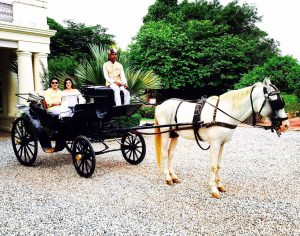nadesar palace carriage ride