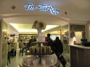 tea room harrod - oriental mandarin