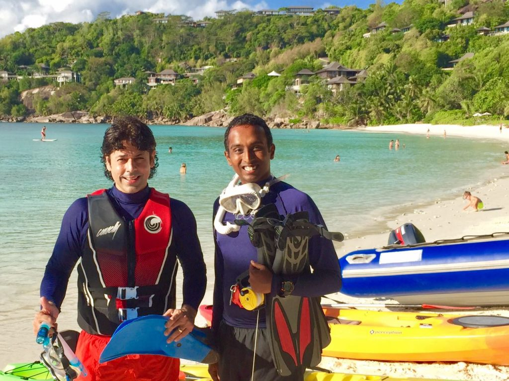 marine discovery program - resort seychelles