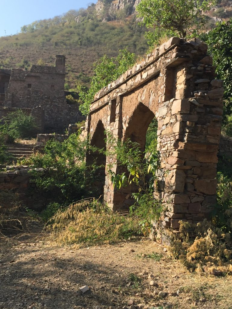 haunted bhangarh - amanbagh resort