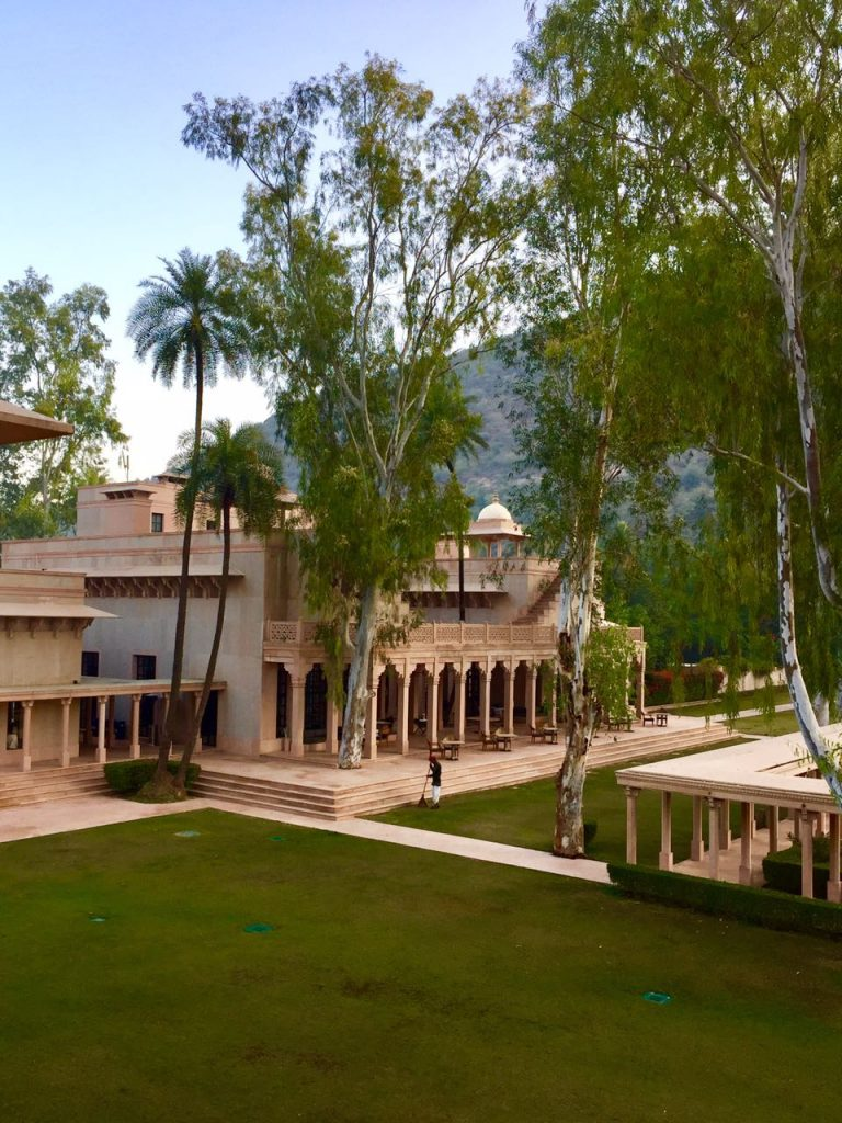 amanbagh resort garden estate