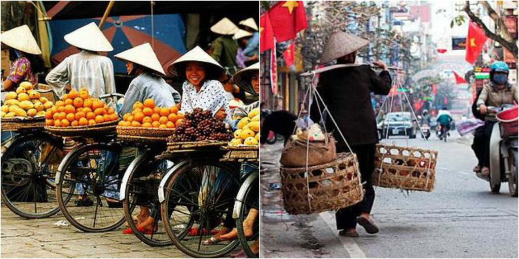 vietnam people hats