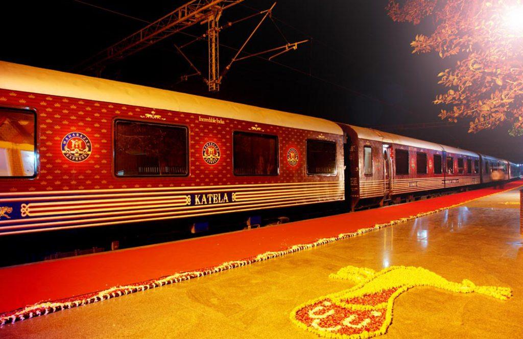 Maharaja's express train