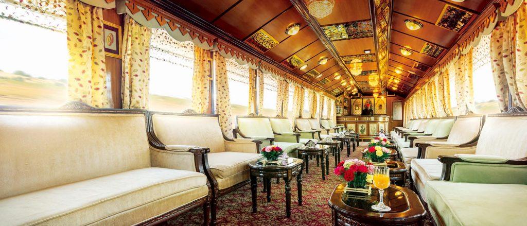 palace on wheels train lounge