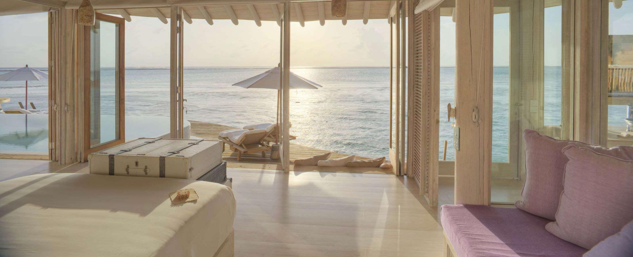 soneva jani villa, blue lagoon, cinema paradiso cinema, medhufaru island, mike dalley, so starstuck, soneva jani, the gathering, will smith