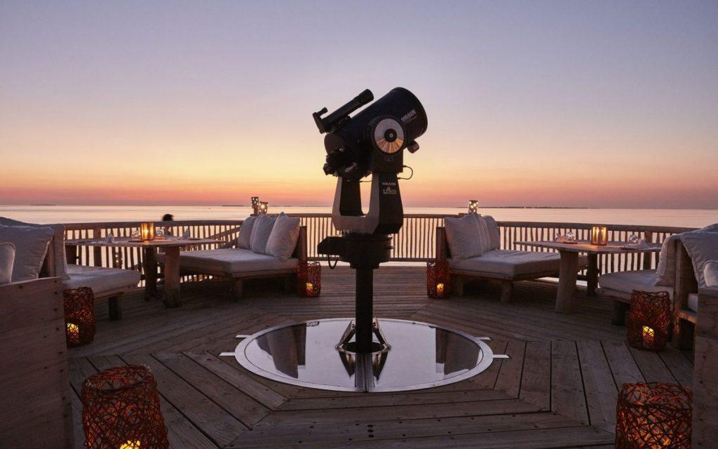 overwater observatory maldives