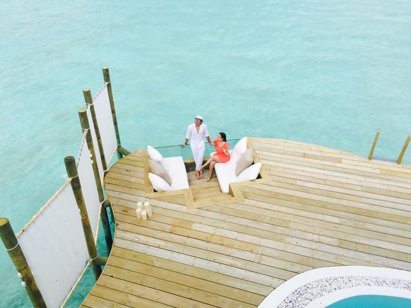 outer deck soneva jani, blue lagoon, cinema paradiso cinema, medhufaru island, mike dalley, so starstuck, soneva jani, the gathering, will smith
