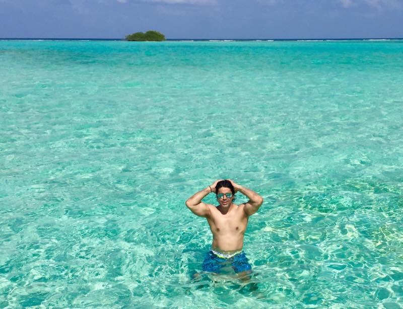 soneva jani swimming experience