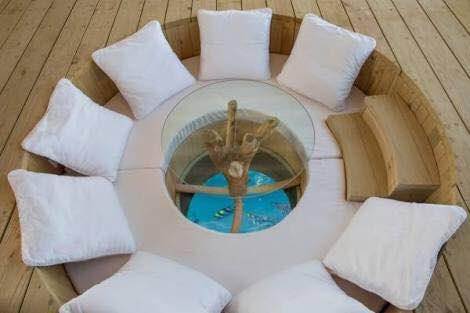soneva jani sunken dining table, blue lagoon, cinema paradiso cinema, medhufaru island, mike dalley, so starstuck, soneva jani, the gathering, will smith