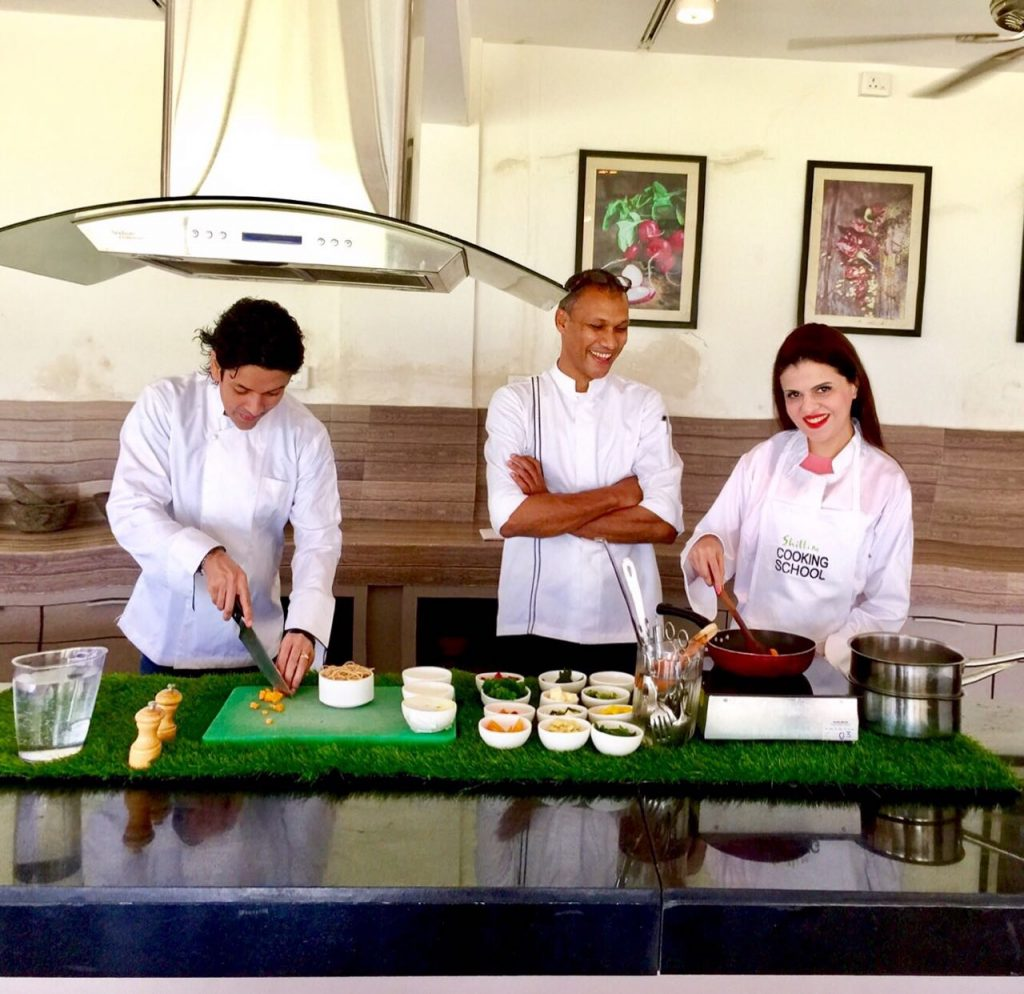 Cooking school of Hilton Shillim Estate, luxury hotels sahyadris, Hilton Shillim Retreat and Spa, sahyadris luxury resorts, hilton shillim estate retreat lonavala