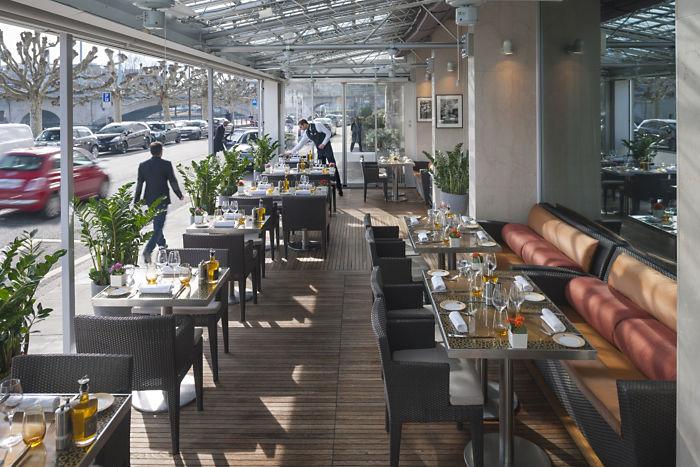 Mandarin Oriental Geneva, Mandarin Oriental Geneva restaurant, luxury hotels switzerland, River Rhone, gstaad