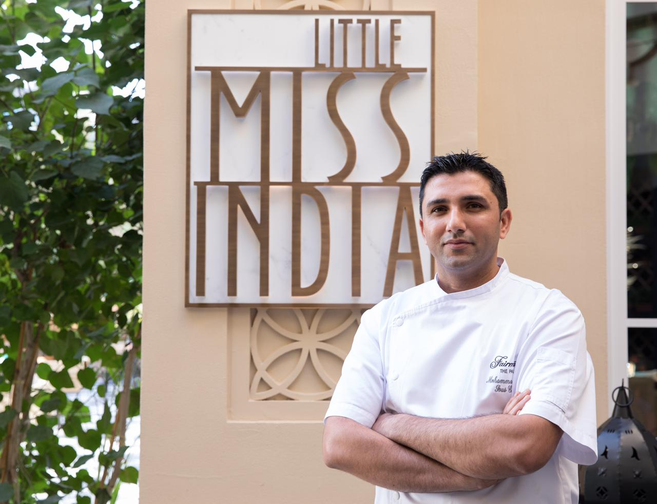Little Miss India, Ms Mohini Singh, little miss india dubai, Fairmont The Palm Dubai, Chef Anup Pawar, Chef mohammad Arif,