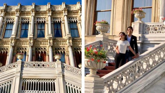 Ciragan Palace Kempinski Istanbul, Neo-Baroque style Ortakoy Mosque, Ortakoy Pier Square, Tugra Turkish restaurant, Istanbul luxurious hotel,