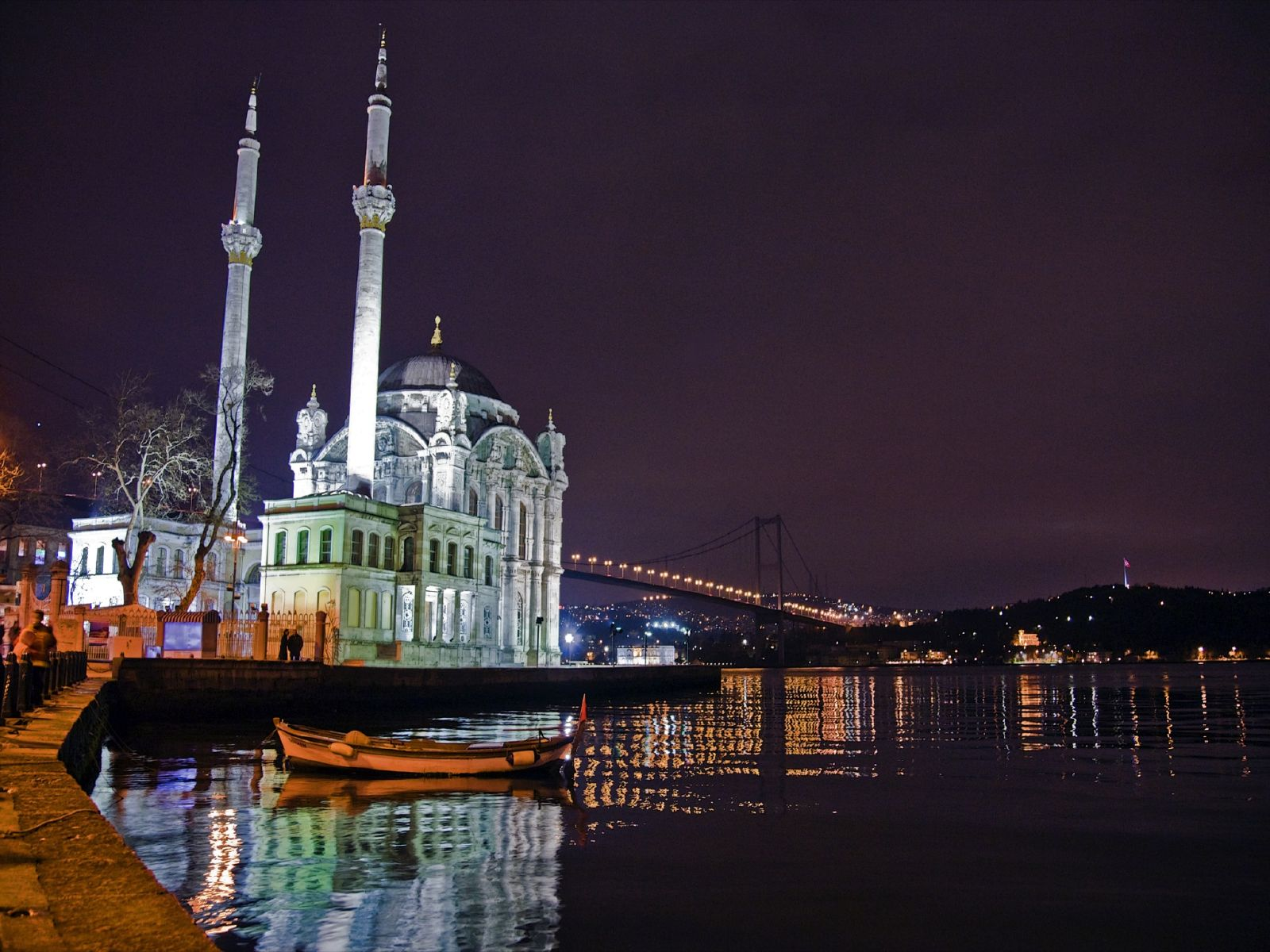 Ortakoy Mosque, Ciragan Palace Kempinski Istanbul, Neo-Baroque style Ortakoy Mosque, Ortakoy Pier Square, Tugra Turkish restaurant, Istanbul luxurious hotel,