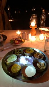 Dinner at Serai, serai sujan jaisalmer, sujan the serai jaisalmer, the serai jaisalmer, The Serai Sujan,