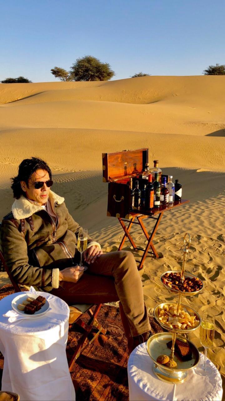 Sajjid mitha at Serai, serai sujan jaisalmer, sujan the serai jaisalmer, the serai jaisalmer, The Serai Sujan,