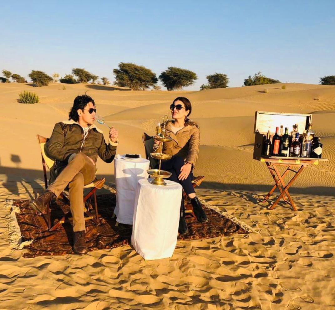 Laveena Mitha and Sajjid mitha, serai sujan jaisalmer, sujan the serai jaisalmer, the serai jaisalmer, The Serai Sujan,