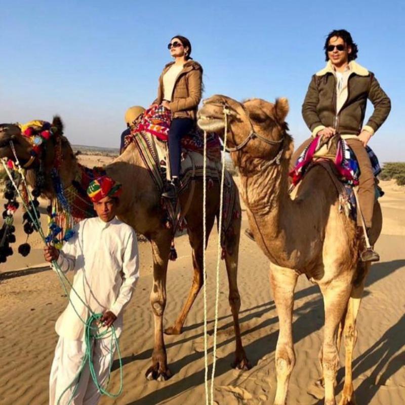 Sajjid mitha laveena mitha camel ride at serai, serai sujan jaisalmer, sujan the serai jaisalmer, the serai jaisalmer, The Serai Sujan,