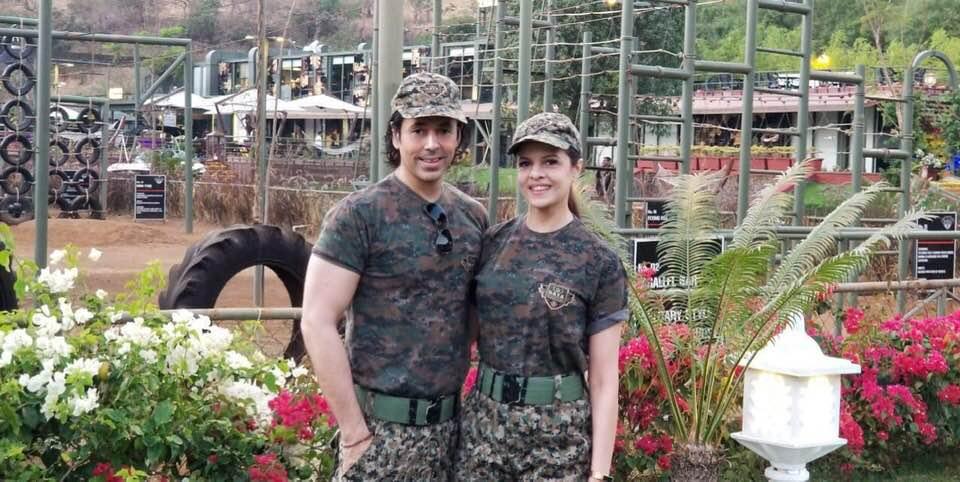 Sajjid Mitha & Laveena Mitha at Della Adventure Training Academy, DATA lonavala, Gurkha Lounge DATA,