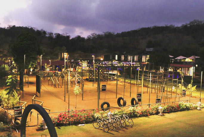 DATA lonavala, Della Adventure Training Academy, Gurkha Lounge DATA, data military camp, della data lonavala,