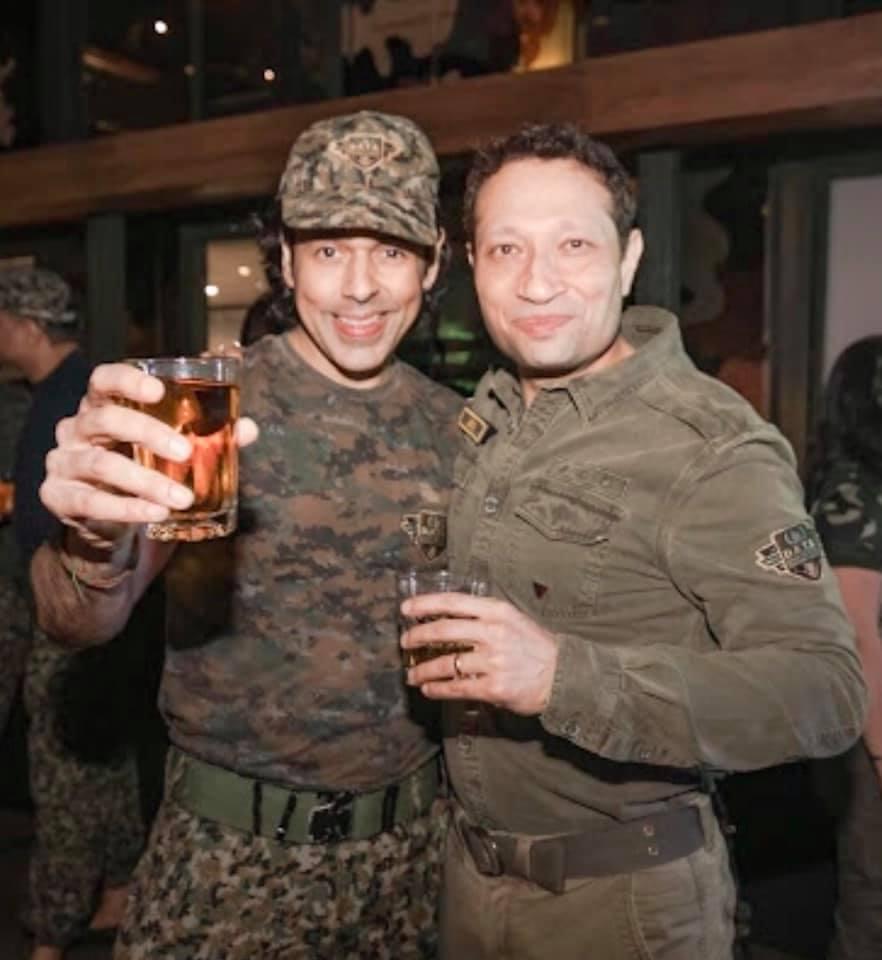 Sajjid Mitha & Jimmy Mistry at DATA lonavala, Della Adventure Training Academy, Gurkha Lounge DATA, data military camp, della data lonavala,