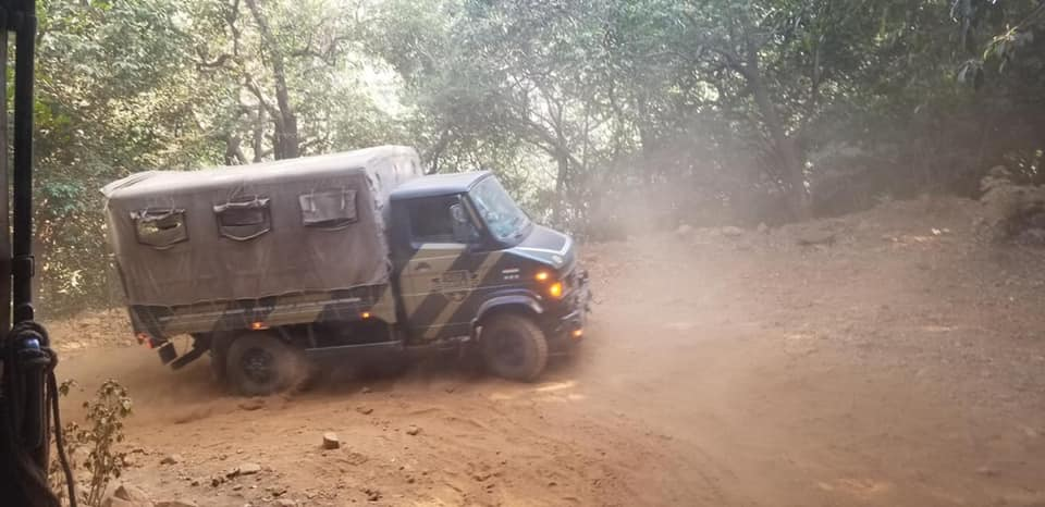 All terrain military vehicle, Della Adventure Training Academy, DATA lonavala, Gurkha Lounge DATA,, della data lonavala, data military camp