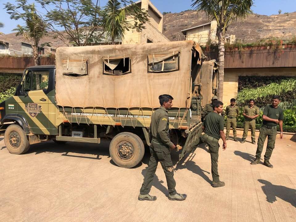 All terrain military vehicle, Della Adventure Training Academy, DATA lonavala, Gurkha Lounge DATA, della data lonavala, data military camp