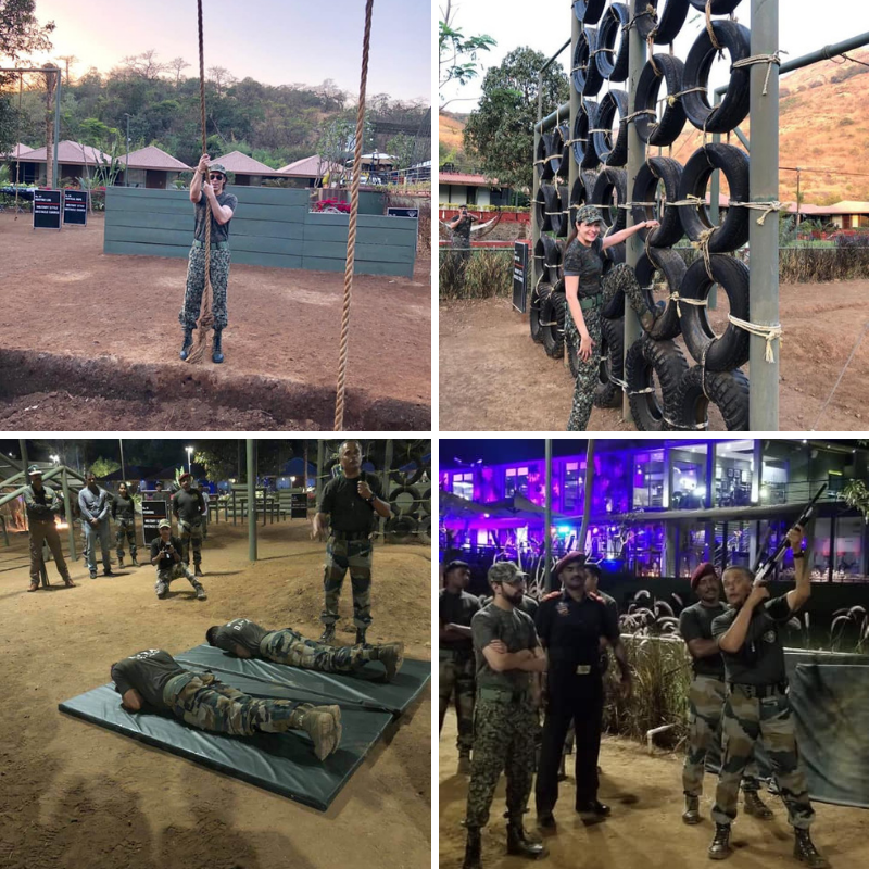 Army training at DATA lonavala, Della Adventure Training Academy, Gurkha Lounge DATA, data military camp, della data lonavala,
